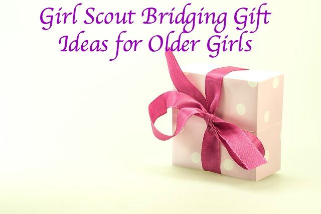 Girl Scout Bridging Gift Ideas For Older Girls Scout Leader