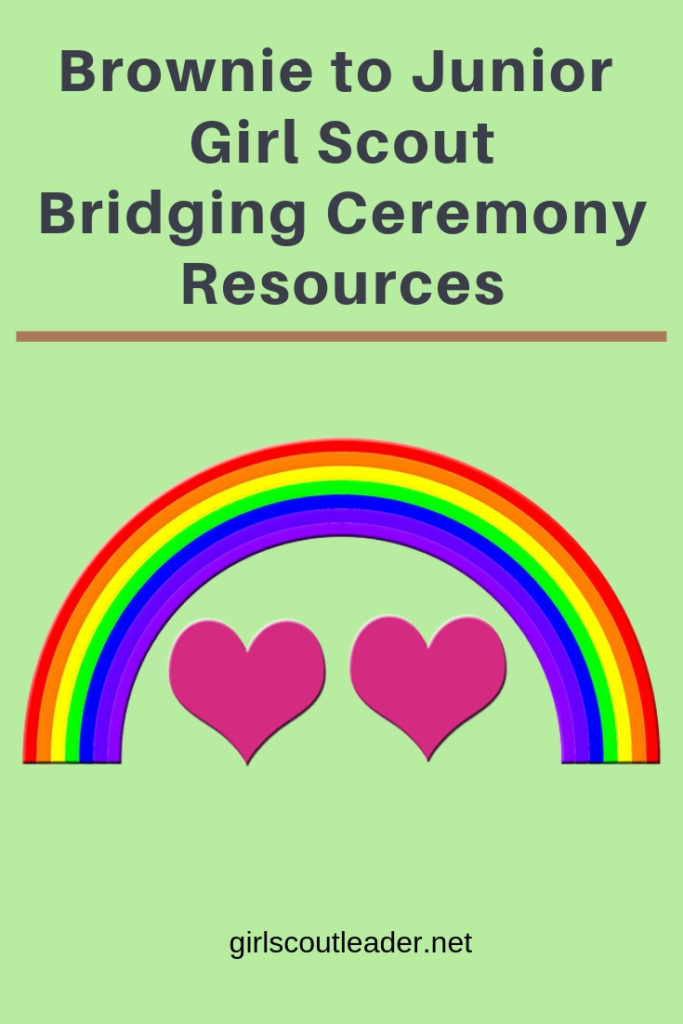 Girl Scout Brownie to Junior Bridging Ceremony